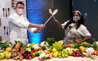 Culinary CHEF Showdown Heats Up In the Kitchen during Cross-County Duel