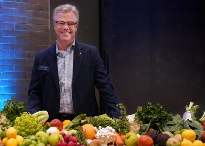 Luminary Food & Beverage Director, Steve Adams