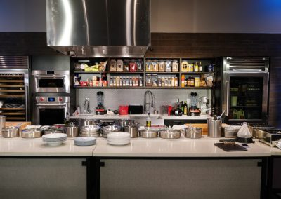 The Workshop demonstration kitchen