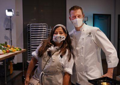 Competitor Chef attitude from Chef Gloria and Chef Jason