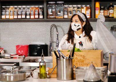 Chef Gloria opens Mystery Basket