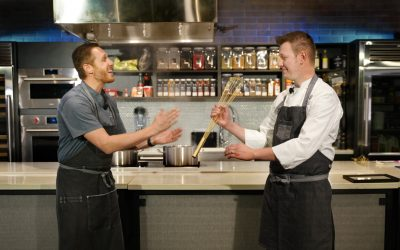 Chef Jason Goddard Wins the Golden Whisk